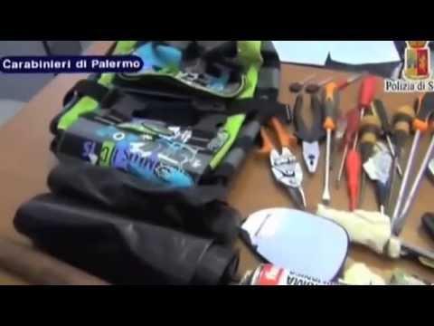 Arresto con inseguimento, 4 in manette a Palermo