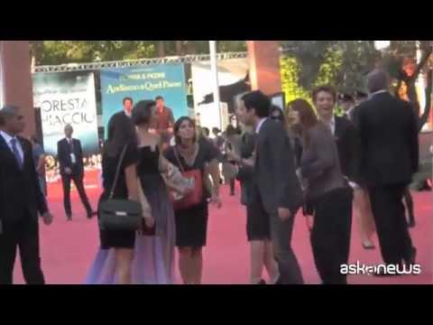 Gere accende il Festival di Roma, fan in delirio per Lily e Sam