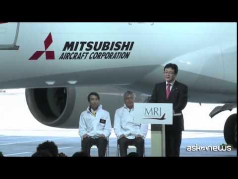 Giappone, primo aereo di linea costruito dopo 40 anni