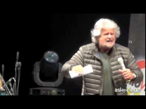 Grillo a Palermo: La mafia aveva morale, corrotta da finanza