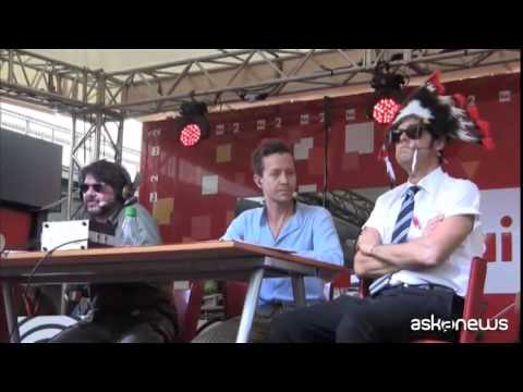 Lillo e Greg dal set al festival di Roma con Radio 2