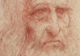 Ritratto di Leonardo in mostra alla Biblioteca Reale di Torino