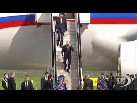Putin accolto da eroe a Belgrado