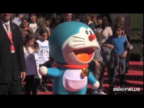 Arriva il film di ''Doraemon'', il gatto blu vola nel futuro
