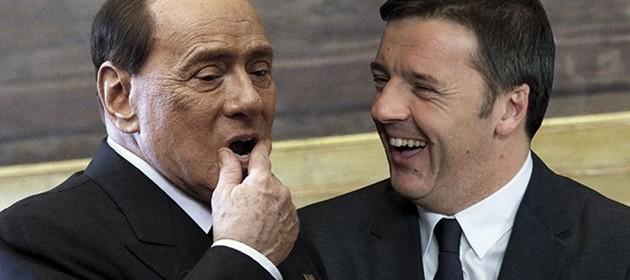 Pranzo Berlusconi-Renzi a Palazzo Chigi, sul piatto la legge Severino