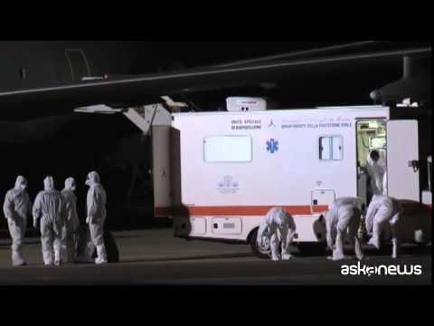 E' a Roma il medico italiano contagiato dal virus Ebola