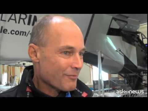 """Giro del mondo volando """"green"""". Sfida di Piccard e Borschberg."""