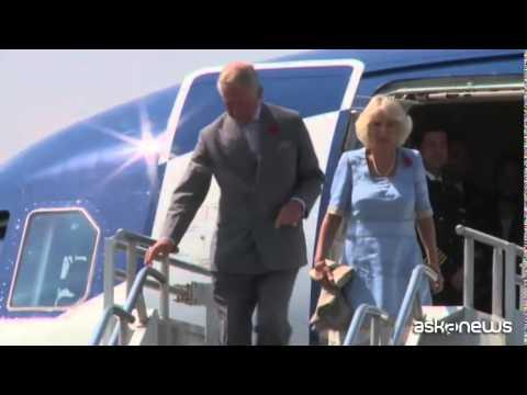 Il principe Carlo e Camilla in visita in Messico