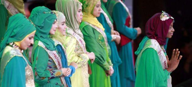 Il concorso di bellezza per le Miss Musulmane