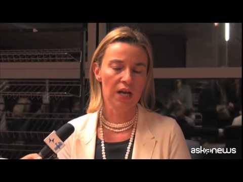 """Mogherini: ''Atmosfera incoraggiante negoziati Iran"""""""