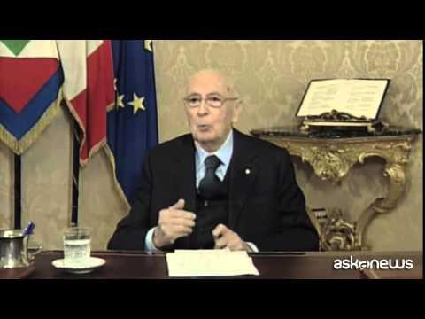 Napolitano: bicameralismo non è stato esperienza idilliaca