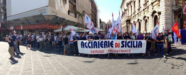 L'allarme dei sindacati, Acciaierie di Sicilia a rischio chiusura