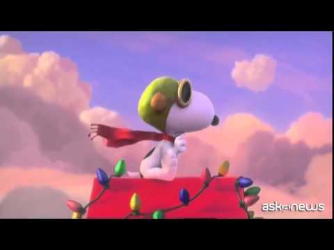 ''Snoopy and Friends'' dalla striscia al film al cinema