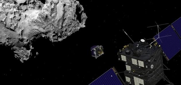 Philae atterrato sulla cometa. Renzi: orgogliosi della teconologia italiana