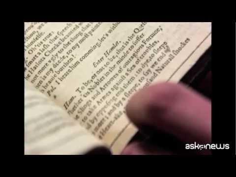 Un rarissimo Shakespeare del 1623 ritrovato in Francia