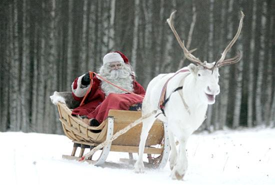 Adesso sarà il satellite a guidare le renne di Babbo Natale