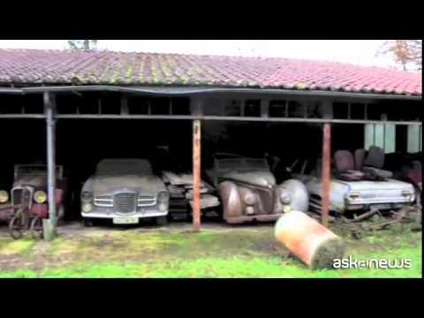 Bugatti e Ferrari, tesoro abbandonato scoperto in granaio