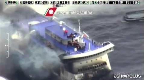Evacuati tutti i passeggeri della Norman Atlantic, 7 vittime