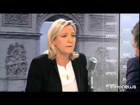 Francia, Marine Le Pen: la tortura? Può essere utile