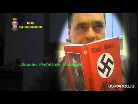 Gruppo neofascista clandestino progettava attentati: 14 arresti