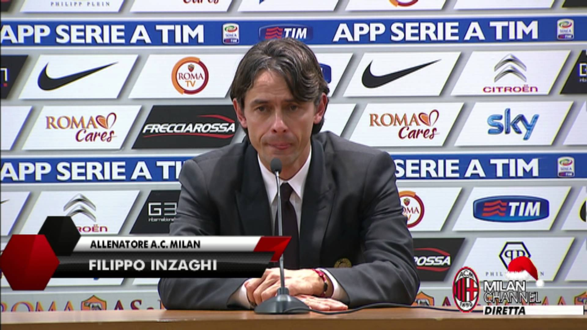 """Inzaghi: """"Il Milan è sulla strada giusta"""""""
