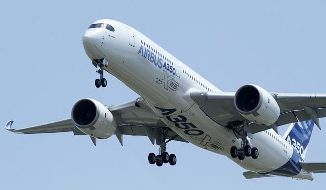 Evento mondiale storico, Airbus A350 XWB pronto per decollo