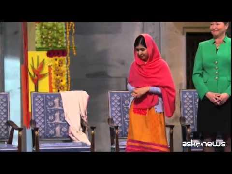 Malala: lotterò finchè tutti i bambini non andranno a scuola