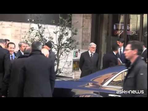 Napolitano a Torino per il forum italo-tedesco
