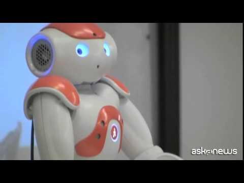 Presentato a Bologna Nao, il robot a forma di bambino