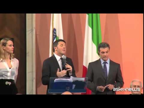 Renzi: a fianco al Coni per candidatura Italia Olimpiadi 2024