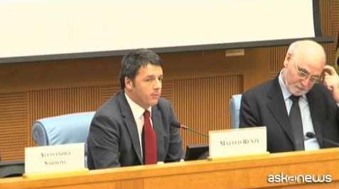 Renzi: parola chiave del 2015 è ritmo, l'Italia ce la farà