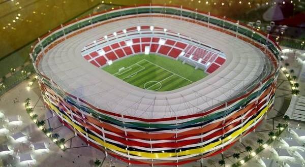 Mondiali calcio 2022, il Qatar lancia il mega ecostadio