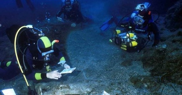 Ripescati in mare a Gela 39 lingotti di Oricalco di 2600 anni fa