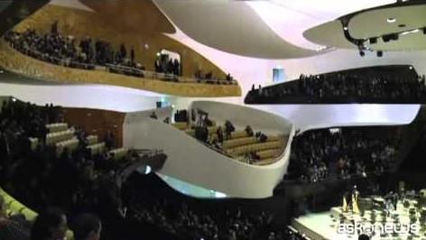 A Parigi inaugurata la nuova Filarmonica, da 2.400 posti a sedere