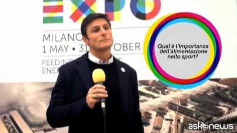 """Zanetti """"ambassador"""" Expo 2015 (VIDEO)"""