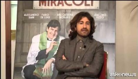 """Alessandro Siani: il mio film un """"Fantasy comedy"""" per tutti"""