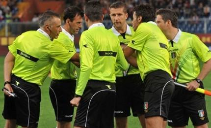 Calcio 17^ giornata, designazioni arbitrali