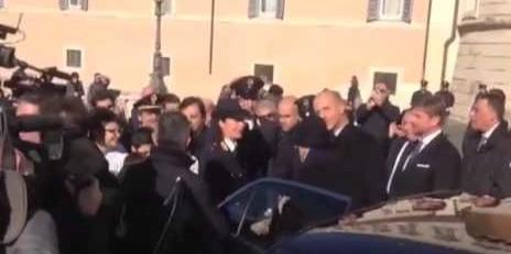 Augurio di Napolitano prima delle dimissioni: il Paese sia unito