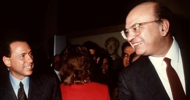 Berlusconi: morte di Craxi in esilio è pagina vergognosa