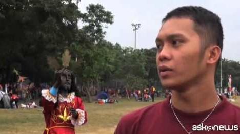 """Filippine, la festa del """"Nazareno nero"""" in attesa del Papa"""