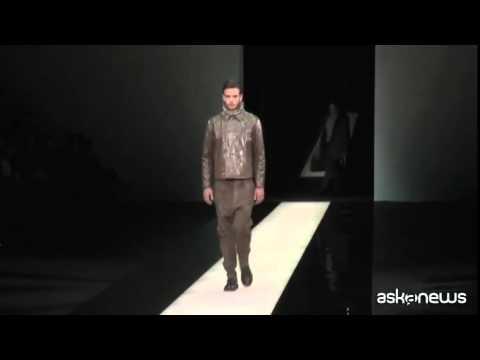 Giorgio Armani, collezione per uomini sensuali (VIDEO)