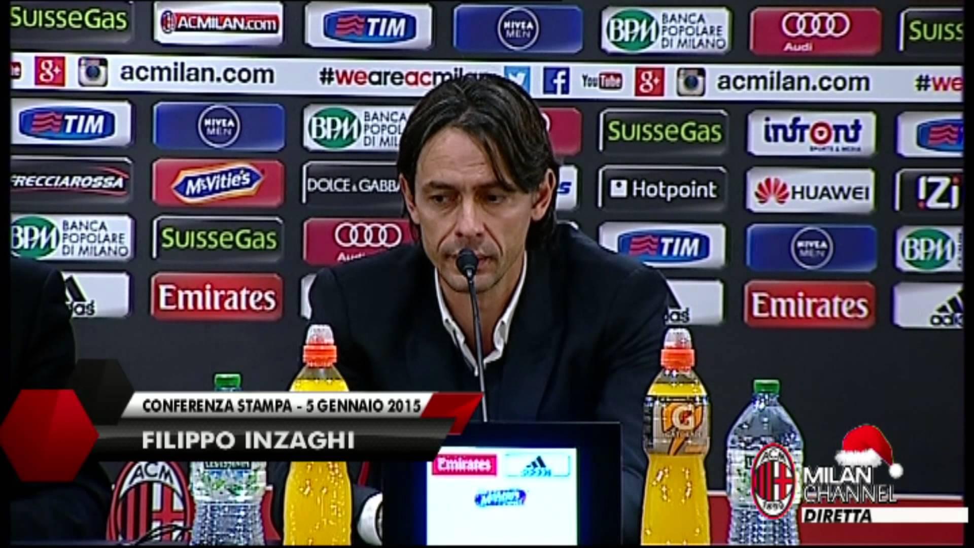 """Inzaghi: """"Cerci era una priorità di mercato"""""""