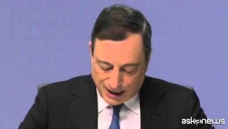 Draghi: Bce dà il via piano di acquisti da 60 miliardi al mese