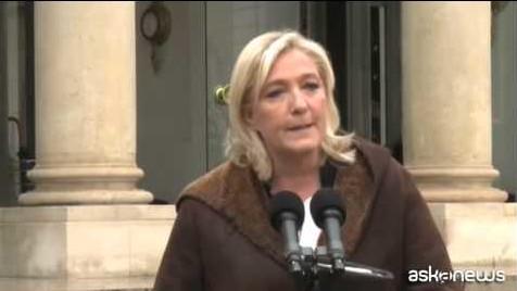 Marine Le Pen: non andrò alla manifestazione, non mi vogliono