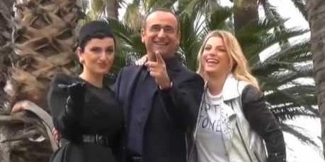 Sanremo, Arisa e Emma vallette di Conti. Priorità sia divertire
