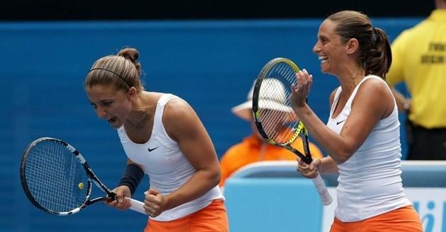 Tennis, Errani-Vinci conquistano Auckland