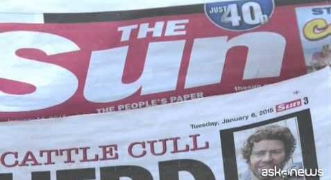 """Svolta per il """"Sun"""", addio alle modelle in topless"""