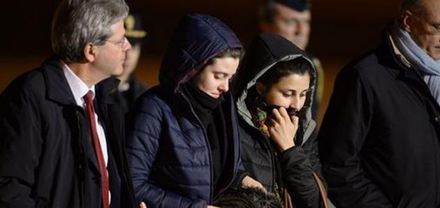 Volontarie italiane liberate in Siria dopo mesi di paura (I VIDEO)