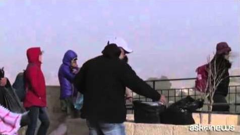 Tempesta di sabbia su Israele e territori palestinesi