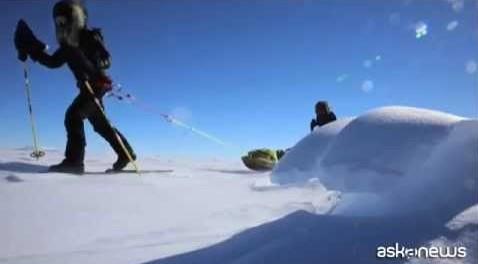 73 giorni e oltre duemila chilometri a spasso per l'Antartico